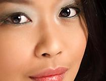 頬と鼻の調整